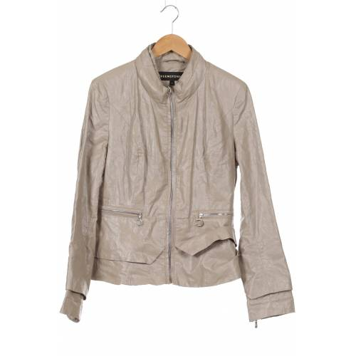 Creenstone Damen Jacke beige kein Etikett DE 38