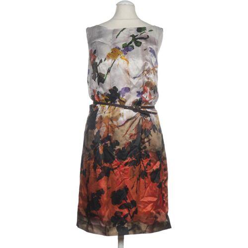 DANIEL HECHTER Damen Kleid rot Seide Viskose DE 36
