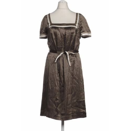 DANIEL HECHTER Damen Kleid grün Seide DE 38