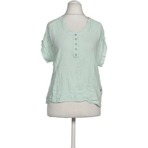 DEPT. Damen Bluse grün Viskose INT S