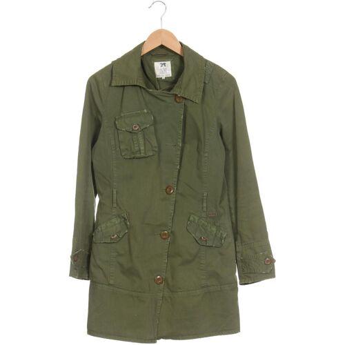 DEPT. Damen Mantel grün Baumwolle INT M