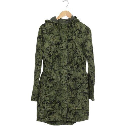DEPT. Damen Mantel grün Baumwolle INT S