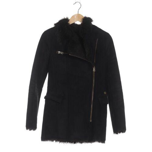 DEPT. Damen Mantel schwarz Synthetik INT XS