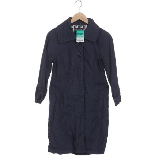 DEPT. Damen Mantel blau Baumwolle INT S