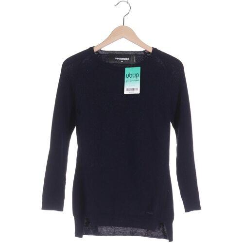 DSQUARED2 Damen Pullover blau Wolle INT XS