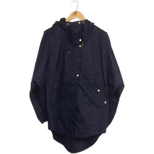 Danefae Damen Mantel blau Synthetik INT XS