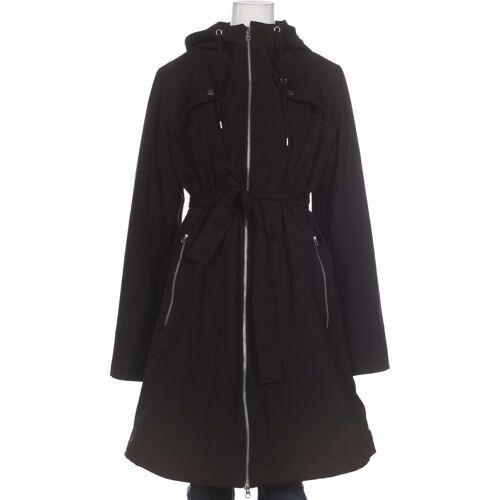 Danefae Damen Mantel schwarz Elasthan Synthetik INT M