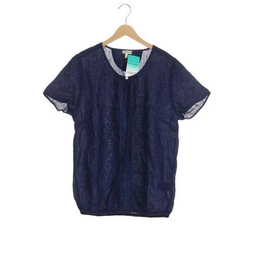 Deerberg Damen T-Shirt blau Leinen INT M