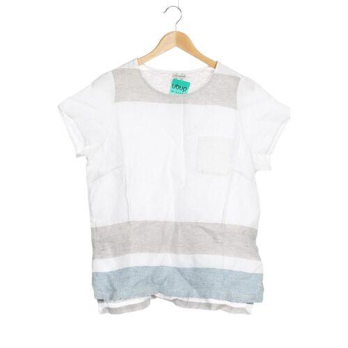 Deerberg Damen T-Shirt weiß Leinen INT L