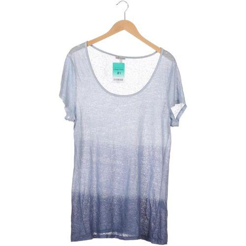 Deerberg Damen T-Shirt blau Leder INT L