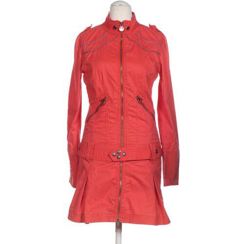 Diesel Damen Mantel rot Baumwolle INT L