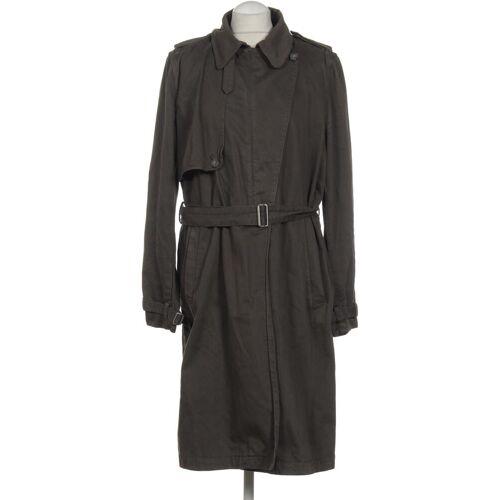 Diesel Damen Mantel grau Baumwolle INT L