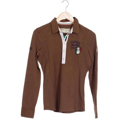 Dolomite Damen Poloshirt braun Elasthan Baumwolle INT M