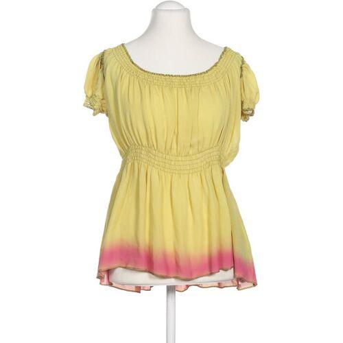 Dondup Damen Bluse gelb Seide DE 44