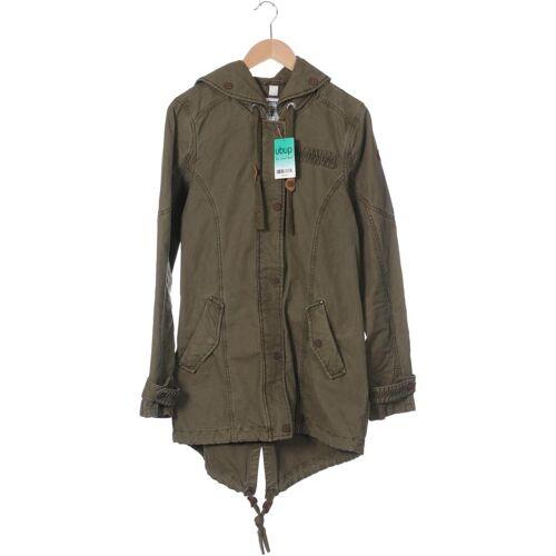 DreiMaster Damen Mantel grün Baumwolle INT L