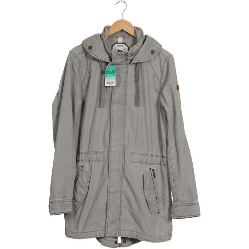 DreiMaster Damen Mantel grau Baumwolle INT M
