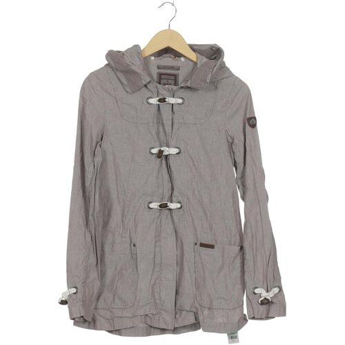 DreiMaster Damen Mantel grau Baumwolle INT S