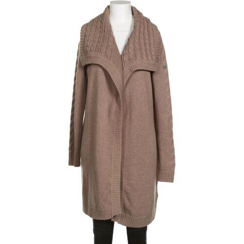 DreiMaster Damen Strickjacke braun Baumwolle INT S