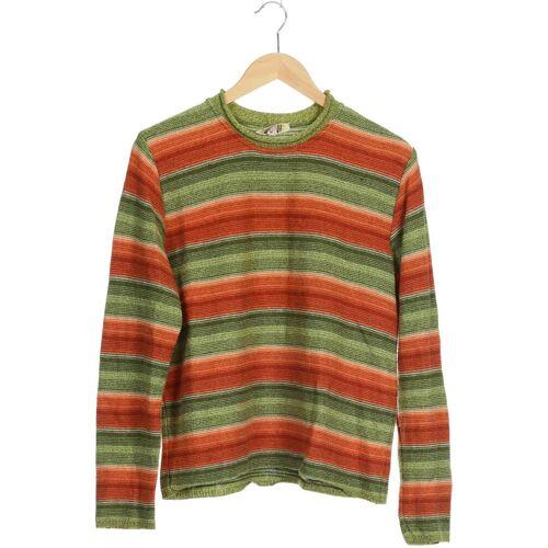 Dunque Damen Pullover grün Schurwolle INT M