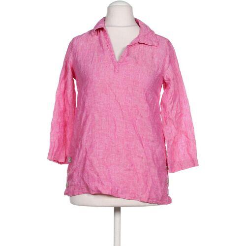 ELIE TAHARI Damen Bluse pink Leinen INT XS