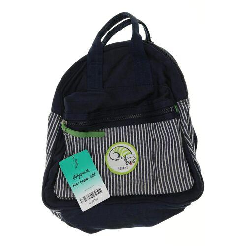 Esprit Damen Rucksack blau kein Etikett