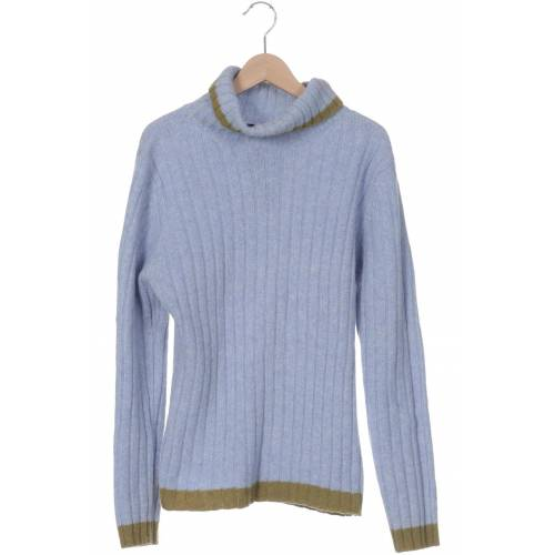 FFC Damen Pullover blau Synthetik Wolle Angorawolle INT XL