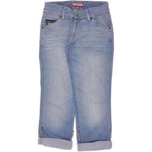 FREESOUL Damen Jeans blau Baumwolle INCH 26