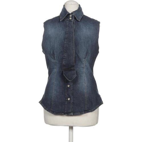 Fornarina Damen Bluse blau kein Etikett INT S