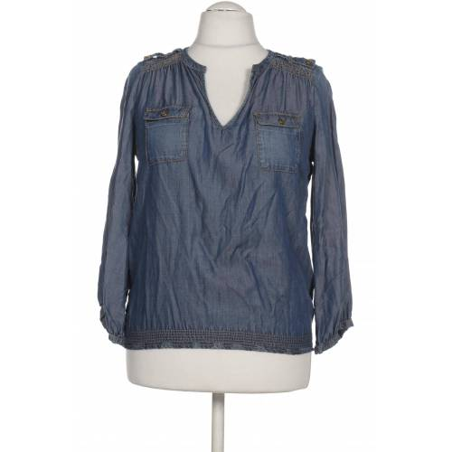 Fornarina Damen Bluse blau Viskose INT M