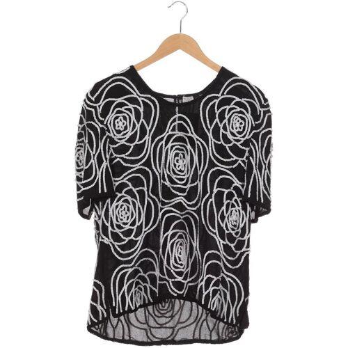 Frank Usher Damen T-Shirt schwarz Seide Viskose INT M