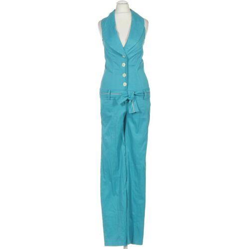 Frogbox Damen Jumpsuit/Overall INT XXS L31, Maße Bundweite: 35cm, Maße Innenbeinlänge: 79cm blau
