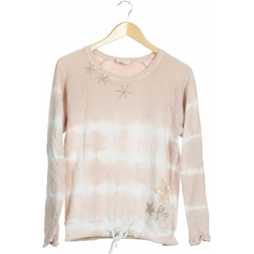 Frogbox Damen Sweatshirt pink Baumwolle DE 34