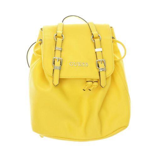 Guess Damen Rucksack gelb Kunstleder