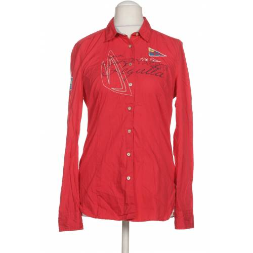 Gaastra Damen Bluse rot Wolle INT S