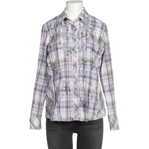 Gelco Damen Bluse blau Elasthan Baumwolle Synthetik DE 38