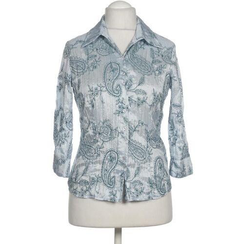 Gelco Damen Bluse blau Synthetik DE 38