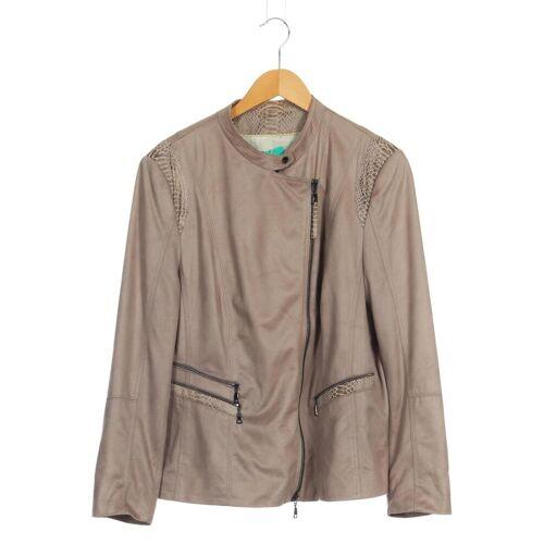 Gelco Damen Jacke beige kein Etikett INT XXL