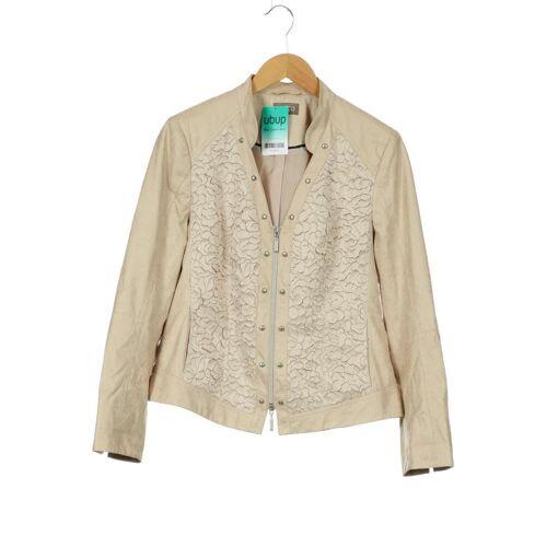 Gelco Damen Jacke beige kein Etikett DE 40