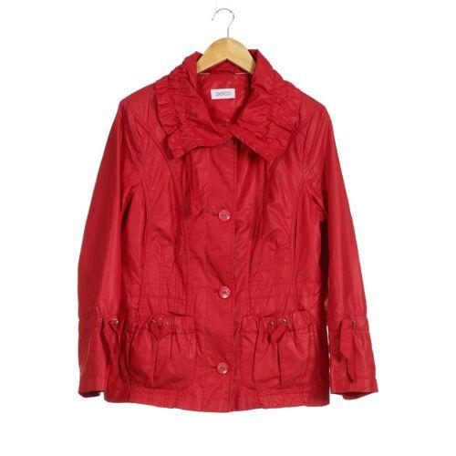 Gelco Damen Jacke rot Synthetik DE 40