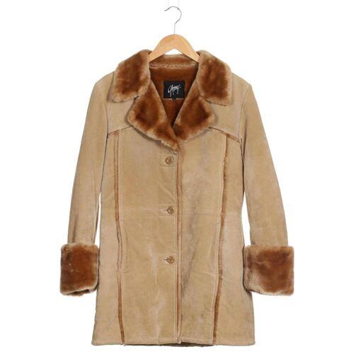 Gipsy Damen Mantel beige Synthetik INT L