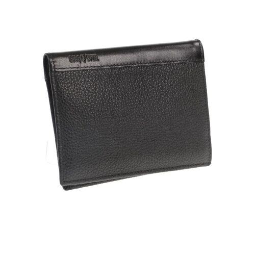Goldpfeil Damen Portemonnaie schwarz kein Etikett