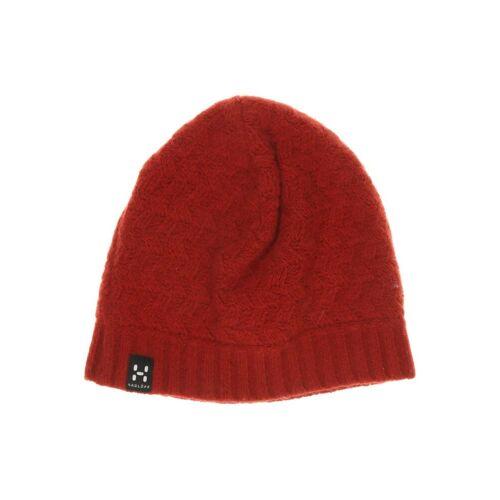 Haglöfs Damen Hut/Mütze rot Merino Synthetik INT ONESIZE