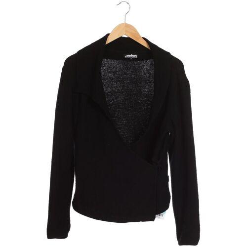 HIMALAYA Damen Strickjacke schwarz Wolle INT M