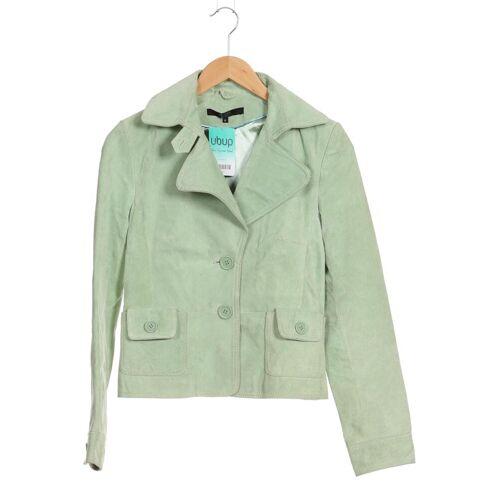 Hallhuber Damen Jacke grün Leder Synthetik DE 36