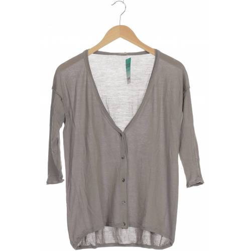 Hemisphere Damen Strickjacke grau Wolle DE 34