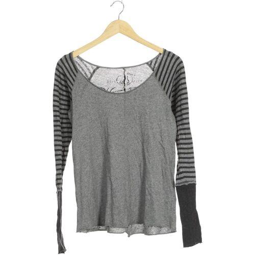 Herrlicher Damen Pullover grau Baumwolle INT S