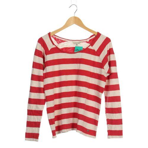 Herrlicher Damen Pullover rot Baumwolle INT M