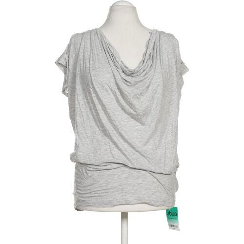 Herrlicher Damen T-Shirt grau Viskose INT L