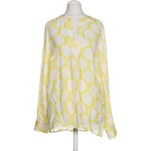 Herzensangelegenheit Damen Bluse gelb Seide DE 34