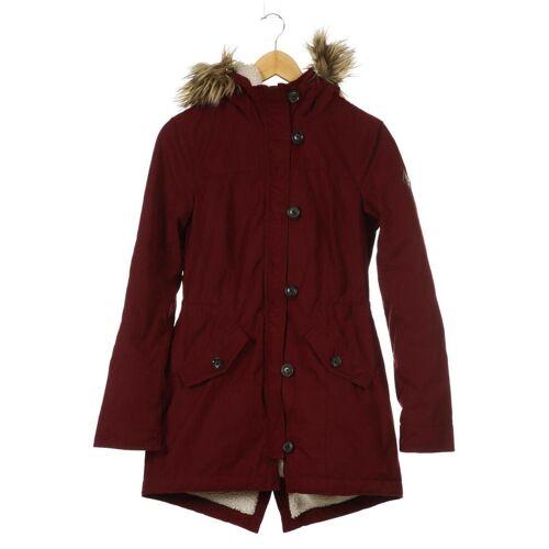 Hollister Damen Mantel rot kein Etikett INT S